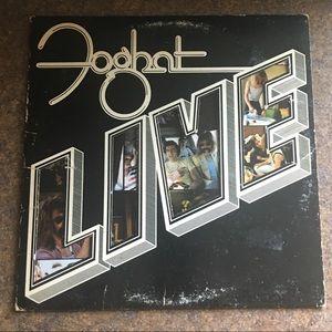 Foghat Live Vinyl LP Album